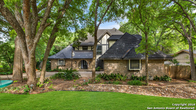San Antonio Single Family Home For Sale: 7207 Brookside St