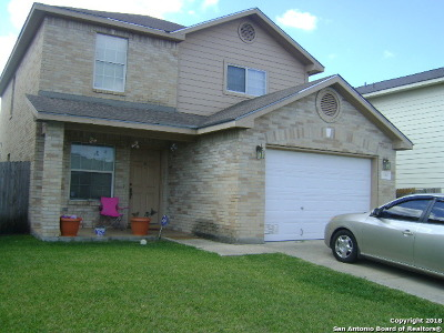Converse Single Family Home New: 8319 Heights Valley