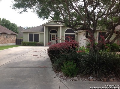 New Braunfels Single Family Home Back on Market: 2119 Stonehaven