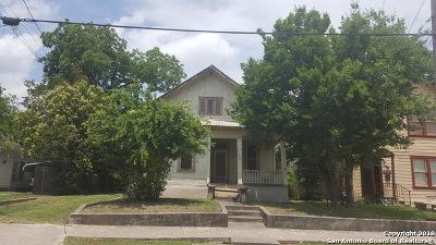 San Antonio Single Family Home New: 647 E Ashby Pl