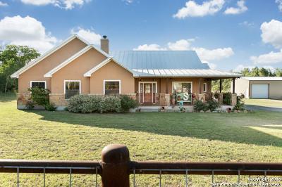 Atascosa County Single Family Home New: 18303 Wisdom Rd