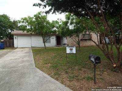 San Antonio TX Single Family Home Back on Market: $100,000