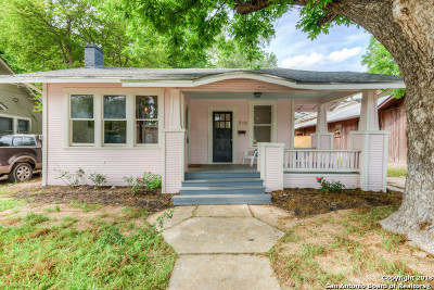 San Antonio Single Family Home Back on Market: 715 W Russell Pl