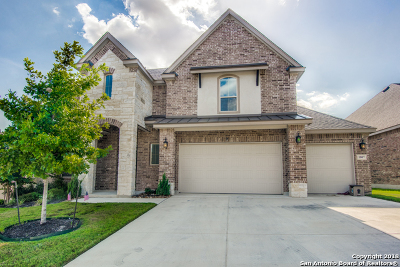 Bexar County Single Family Home Price Change: 5807 Culberson Mill