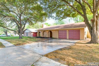 Bexar County Single Family Home Back on Market: 6810 Burnley