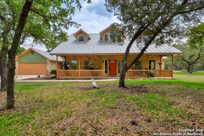 Bulverde Single Family Home Price Change: 1091 Hidden Oaks Dr