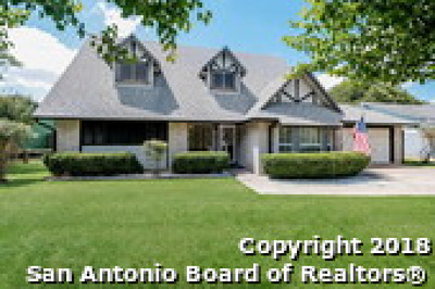 Schertz Single Family Home Price Change: 124 Valley Oak Dr
