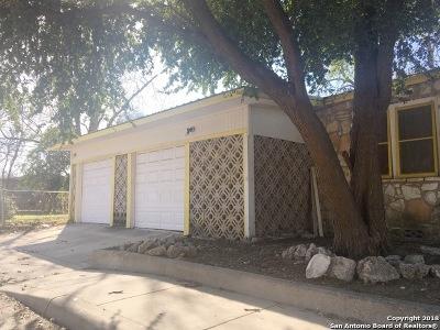 San Antonio Single Family Home For Sale: 802 King Ave