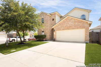 Helotes Single Family Home Price Change: 9810 Amberg Path