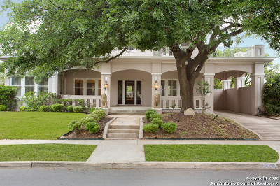 San Antonio Single Family Home Price Change: 151 E Lullwood Ave