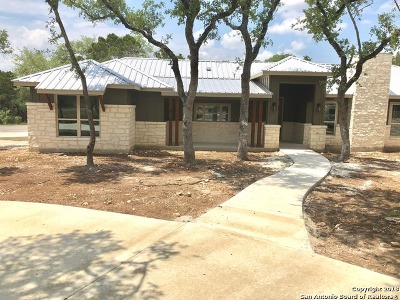 Canyon Lake Single Family Home New: 190 Crazy Horse