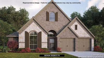 Boerne Single Family Home New: 129 Boulder Creek