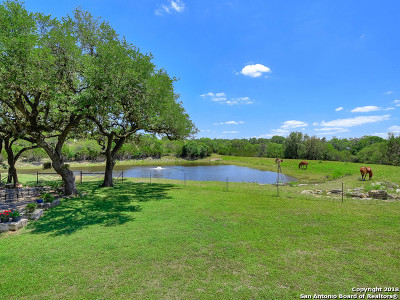 Boerne Single Family Home For Sale: 105 Fm 3351 S