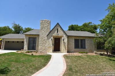 San Antonio Single Family Home Back on Market: 273 W Mariposa Dr