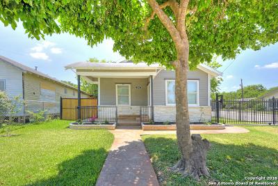 Single Family Home For Sale: 2002 E Crockett St