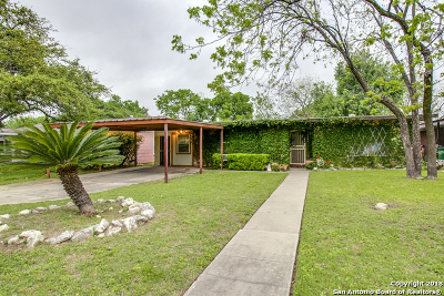 San Antonio Single Family Home Back on Market: 507 Burwood Ln