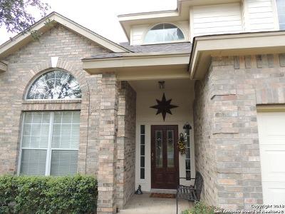 San Antonio Single Family Home New: 22803 Sabine Summit
