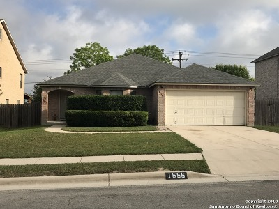 Schertz Single Family Home New: 1656 Willow Top Dr
