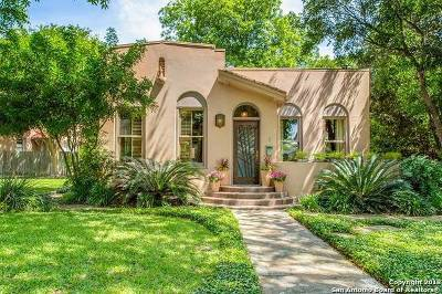 Alamo Heights TX Single Family Home New: $775,000