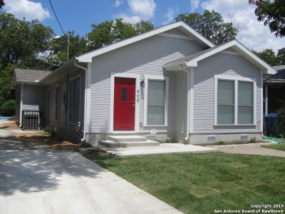 San Antonio Single Family Home New: 409 Quitman St
