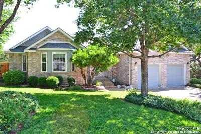 San Antonio Single Family Home New: 18006 Green Knoll