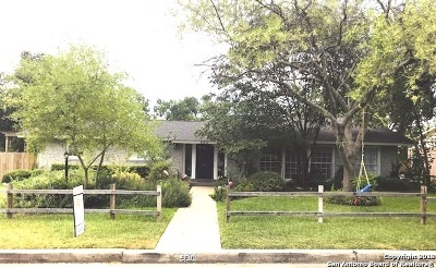 Bexar County Single Family Home New: 330 Rockhill