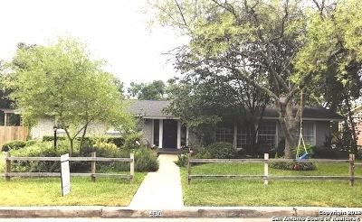 San Antonio Single Family Home New: 330 Rockhill