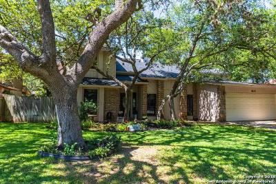 San Antonio Single Family Home New: 4619 Spotted Oak Woods