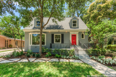 Alamo Heights Single Family Home Price Change: 414 Alamo Heights Blvd