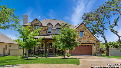Boerne Single Family Home Price Change: 132 Autumn Ridge