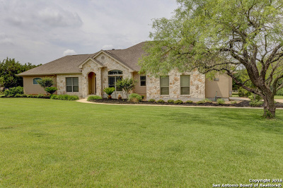 New Braunfels Single Family Home New: 27931 Bogen Rd