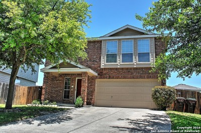 San Antonio Single Family Home New: 10911 Buckskin Bend