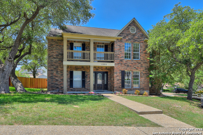 Bexar County Single Family Home Back on Market: 1222 Summit Crest