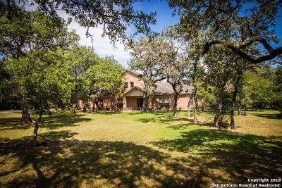 Boerne Single Family Home New: 27610 Autumn Glen