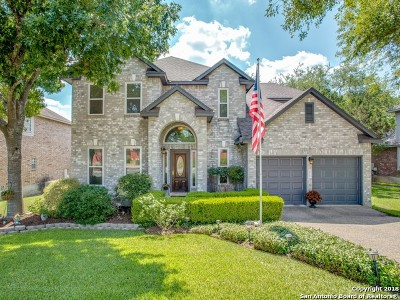 Bexar County Single Family Home Back on Market: 18143 Summer Knoll Dr
