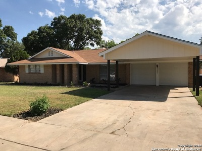 San Antonio Single Family Home New: 3230 Leyte St