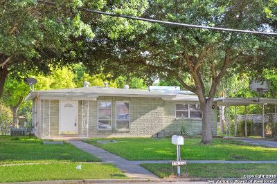 San Antonio Single Family Home New: 1822 W Hutchins Pl