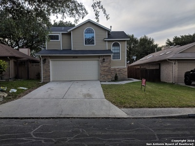 San Antonio TX Single Family Home Back on Market: $186,500