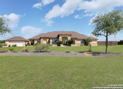 Floresville Single Family Home New: 197 Abrego Lake Dr