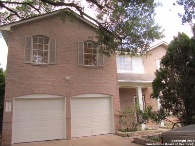 San Antonio Single Family Home New: 1402 Blackbridge