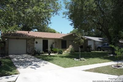San Antonio Single Family Home New: 5839 Castle Hunt