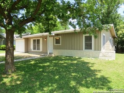 San Antonio Single Family Home New: 3003 Shady Springs Dr