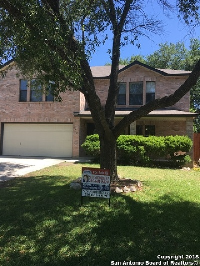 San Antonio Single Family Home New: 6310 Regency Crest
