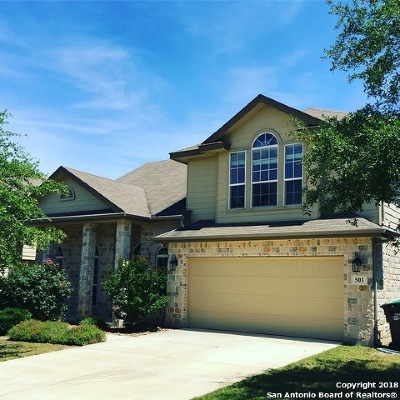 San Antonio Single Family Home New: 503 Redbird Song