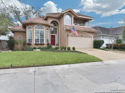 San Antonio Single Family Home New: 614 Hillsong