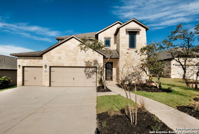 Boerne Single Family Home New: 142 Escalera Circle