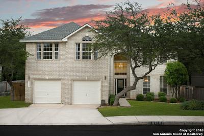 San Antonio Single Family Home New: 18310 Beargrass Court
