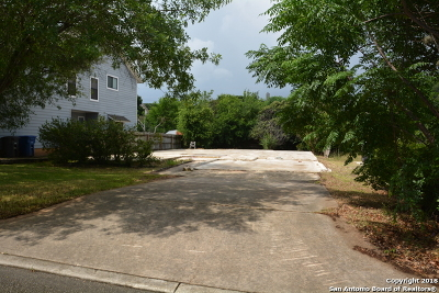 San Antonio Residential Lots & Land New: 16719 Crystal Glade