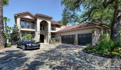 San Antonio Single Family Home New: 75 Champions Lane