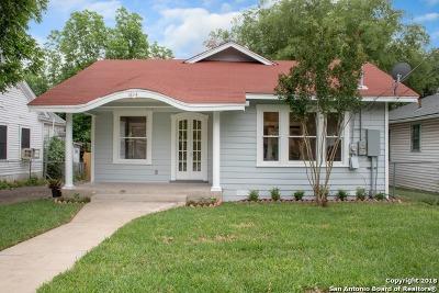 San Antonio Single Family Home New: 1814 W Woodlawn Ave